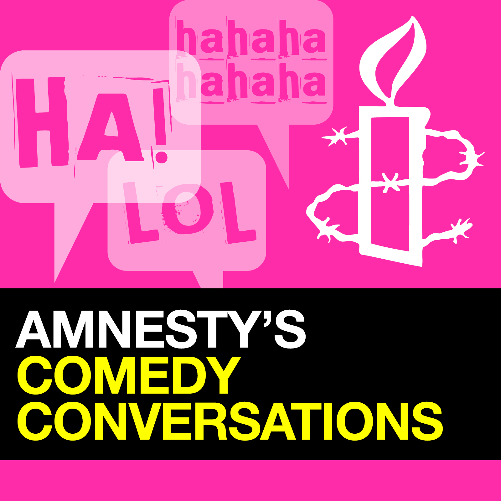 Amnesty's Comedy Conversations