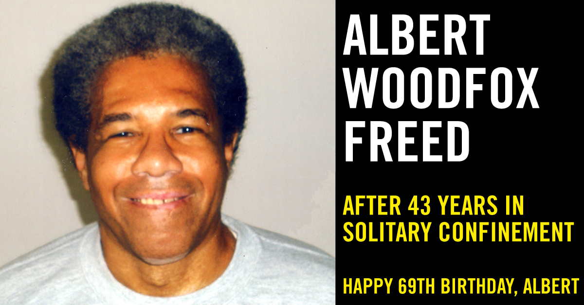Albert Woodfox freed after 43 years in solitary confinement