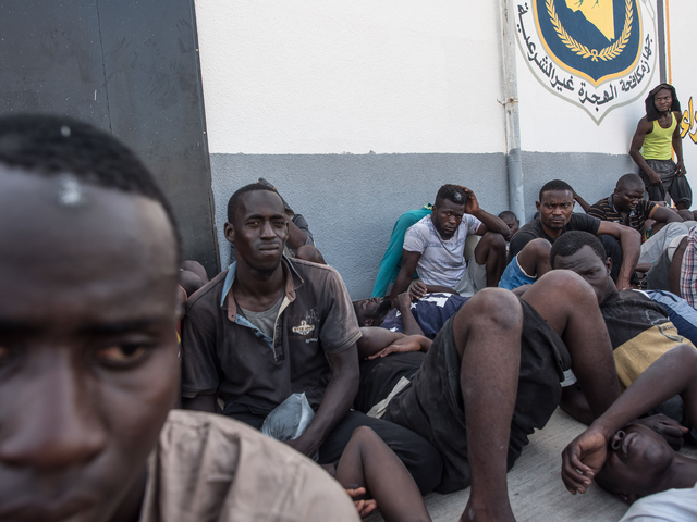 Libya: number of detained refugees and migrants soars
