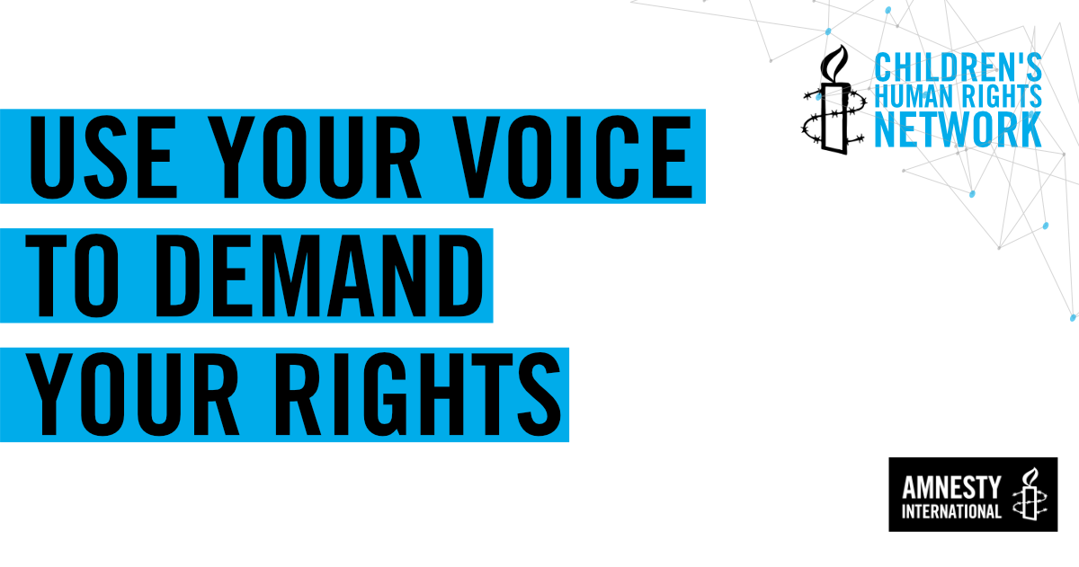 Use Your Voice to Demand Your Rights | Amnesty International UK