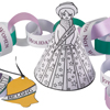 Suffragette Christmas decorations