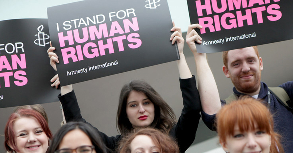amnesty international essays Home free essays pressure groups - amnesty international amnesty international works with and for individuals the world over for example, it takes action to : stop violence against women or.