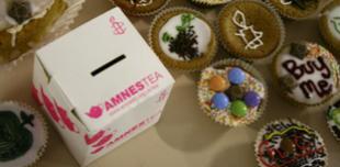 An Amnestea collection box