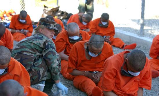Detainees at Guantánamo Bay