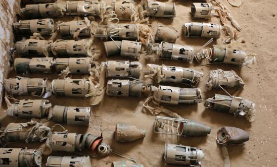 Image result for Saudi Arabia Dropped British-Made Cluster Bombs In Yemen
