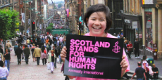 Standing up for rights on Buchanan Street