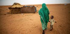 A woman and child in Darfur, Sudan.
