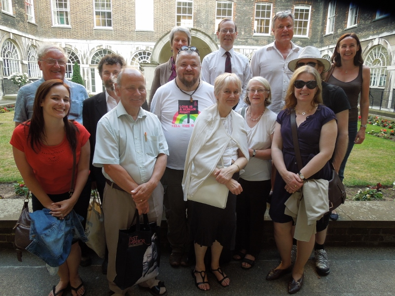 Some of the Mayfair&Soho group members _July 2013