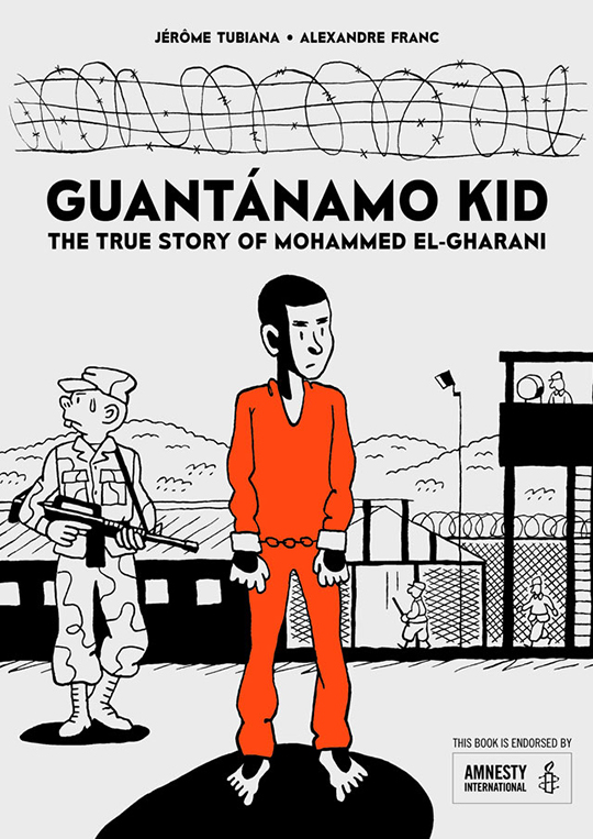 Front cover artwork of Guantanamo Kid