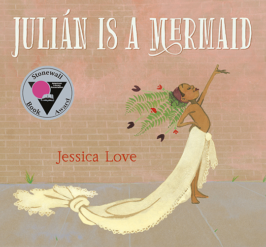 Front cover of Julian is a Mermaid