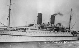 HMT Empire Windrush - © Imperial War Museum Commerical License
