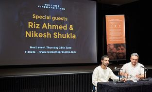 Riz Ahmed at Welcome Cinema