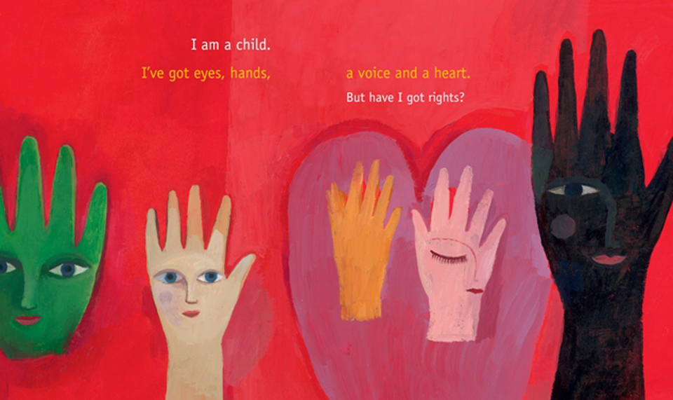 The Right to be a child, illustrated by Aurélia Fronty