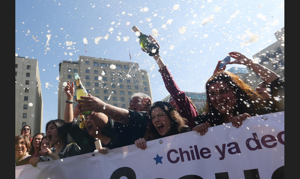 In August 2017, Chile's Constitutional Court voted to ease the country's strict abortion ban by decriminalizing abortion in certain cases.