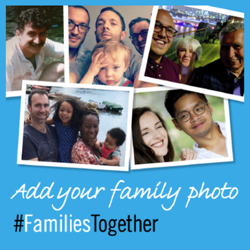 Photos of families together