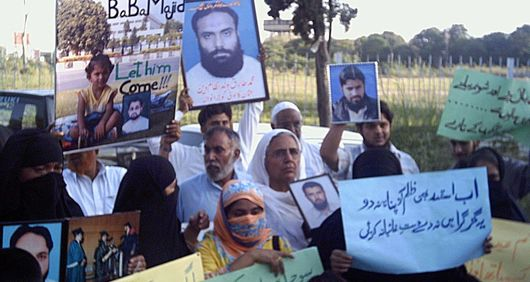 Protests against enforced disappearances, Pakistan