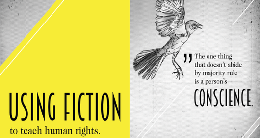 Using fiction to teach human rights