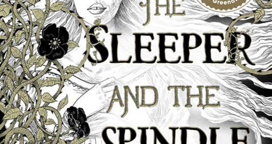 The Sleeper and the Spindle book cover