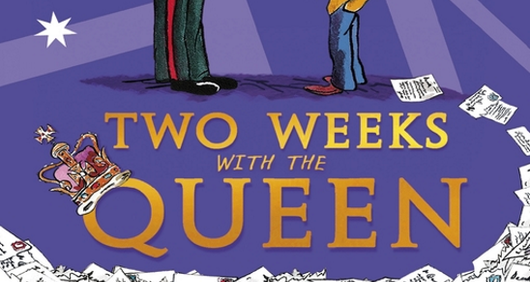 Two Weeks With The Queen book cover