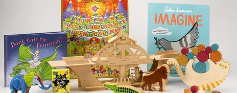 Children's books, toys and an advent calendar