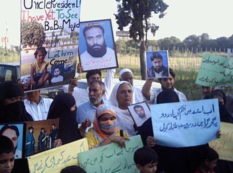 Protests against enforced disappearances, Pakistan
