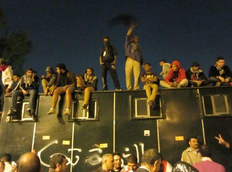 Shackles in Yemeni prison 1992Protests, Cairo, December 2012