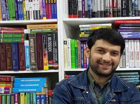 Daler Sharipov, a journalist from Tajikistan