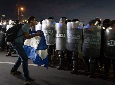 Protest in Nicaragua