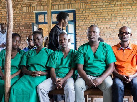 Four journalists of the Burundi's independent media Iwacu Press Group