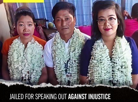 Nay Zar Tun, Khin Cho Naing and Myint Zaw