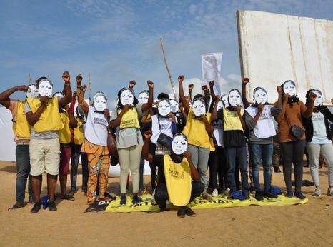 Benin Amnesty International members