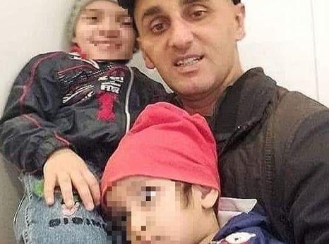 Agil Humbatov and his children