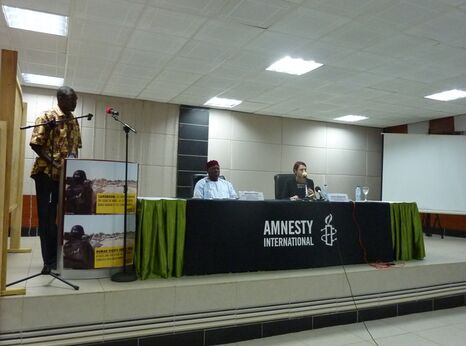 Amnesty Report Launch in Cameroon