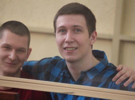 Yan Sidorov (left) and Vladislav Mordasov, Russian youth activists and PoC's - Copyright Credit: Elena Kolmykova