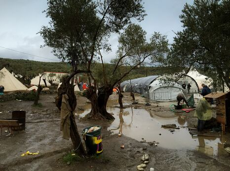 Refugee camp