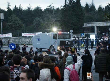 Boğaziçi University protestors