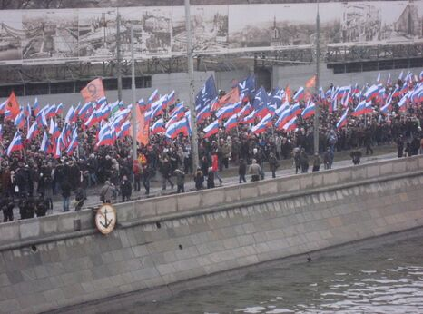 Boris Nemtsov memorial march