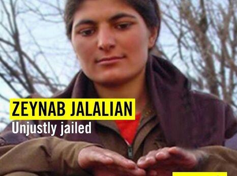 Kurdish-Iranian prisoner Zeynab Jalalian