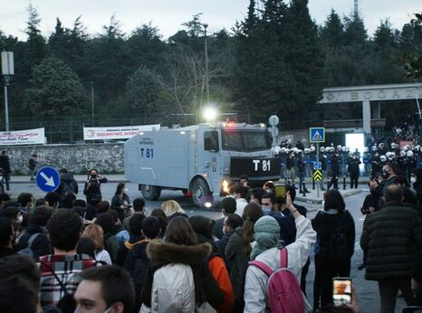 Turkey protestors