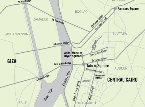 Cairo map