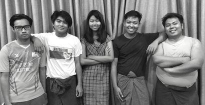 Five members of Peacock Generation