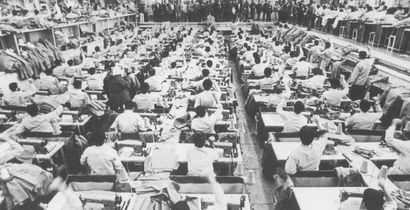 Male Prisoners in Evin Prison