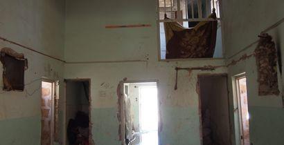 Abandoned prison in Akçakale