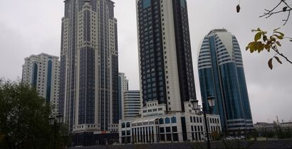 Skyscrapers in Grozny