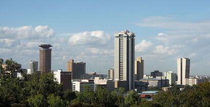 KENYA - Nairobi Skyline
