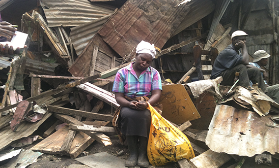 Forced Eviction in City Carton, Kenya