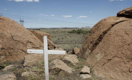 Marikana, scene of the killings of 34 people on 16 August 2012