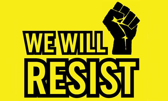We will resist