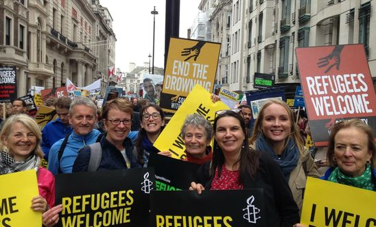 Islington and Hackney local amnesty group