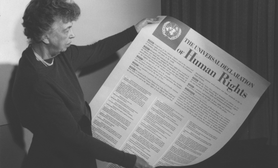 Eleanor Roosevelt and the United Nations Universal Declaration of Human Rights